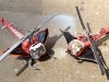 2012 Hot Wheels Batcopter Vs. 1995 PMB! Batcopter 5