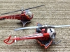 2012 Hot Wheels Batcopter Vs. 1995 PMB! Batcopter 8