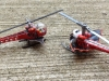 2012 Hot Wheels Batcopter Vs. 1995 PMB! Batcopter 7