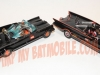 Corgi 1:43 Batmobile vs. Hot Wheels 1:43 Batmobile