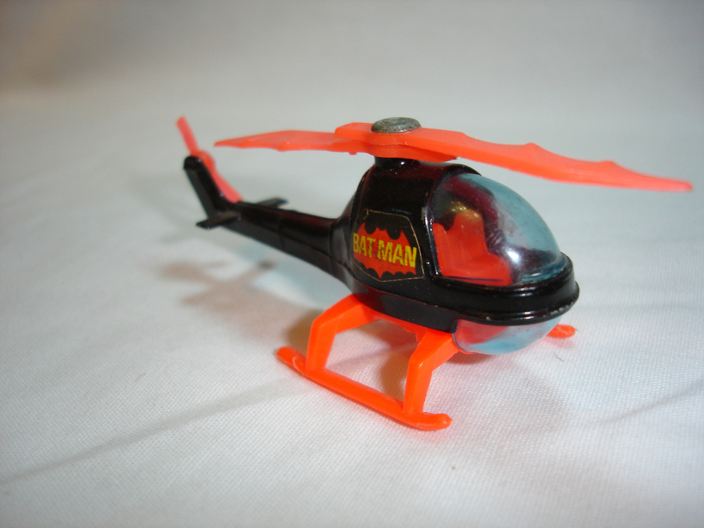 Batcopter shark